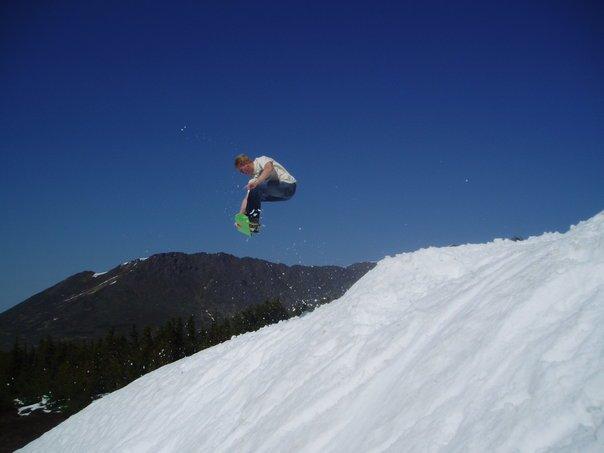 snow skate kicker