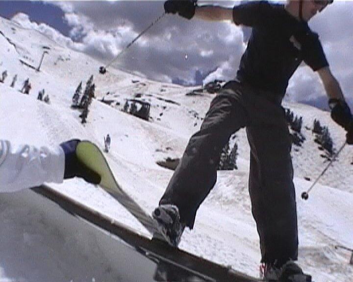 Let go of my ski