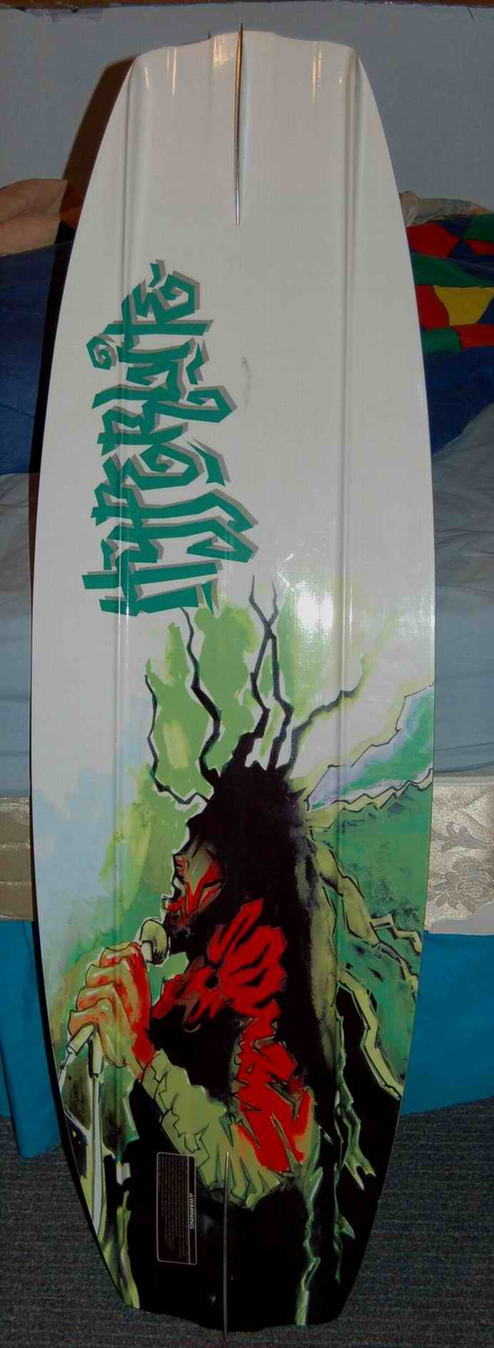 Bob Marley on the base of my Era wakeboard