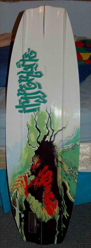 Bob Marley on the base of my Era wakeboard