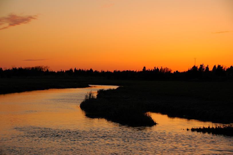 river sunset 2