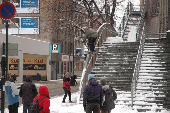 Handrails are fun!!