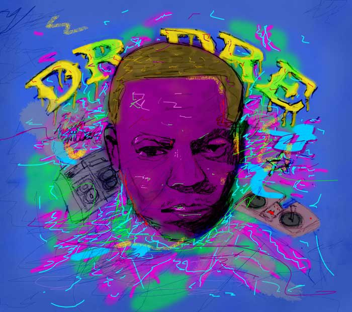 Dr. Dre Photoshop