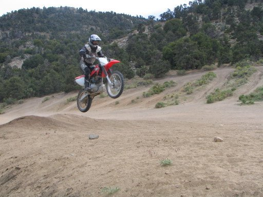 Learning to jump my 150