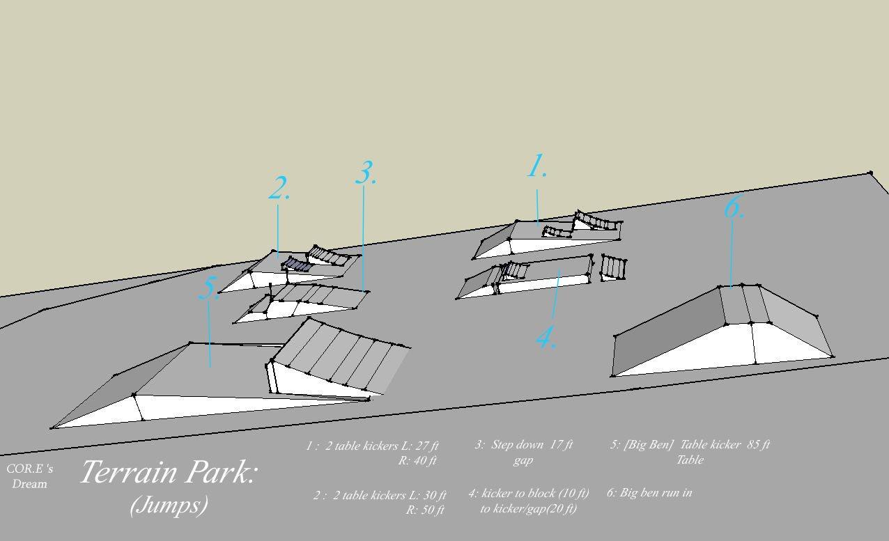 Dream park (sketchup)