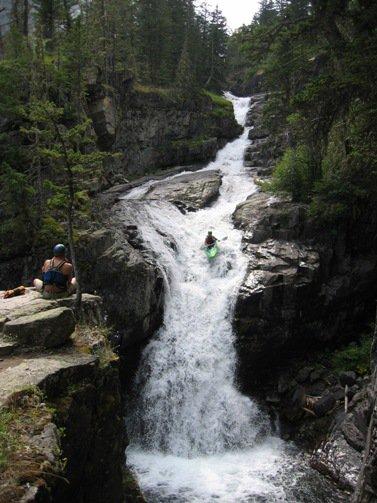 Kayakin big falls
