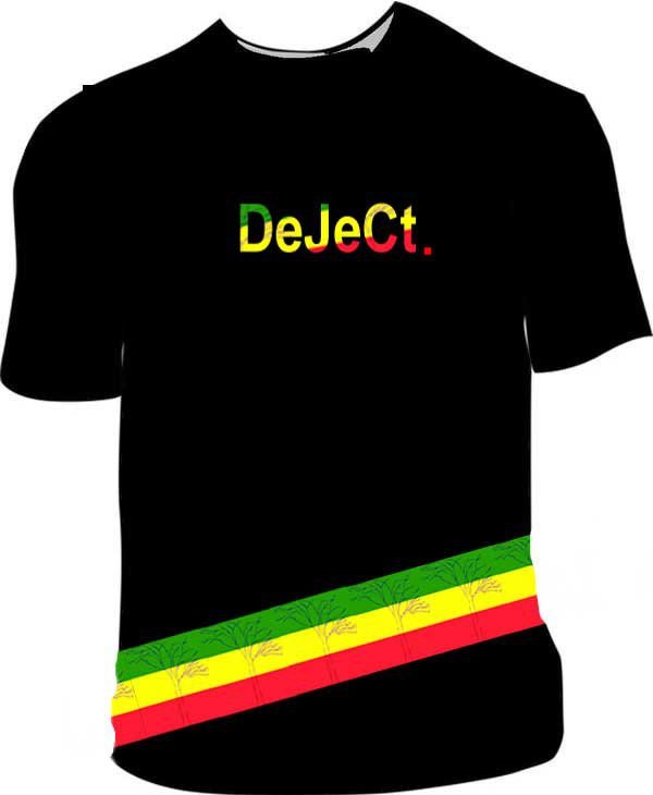 DeJeCt. Rasta T-Shirt Design