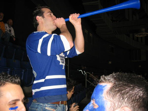 Me at a Leafs game this past season