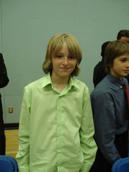 Me at my grad(im in grade 7)
