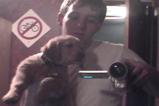 The puppy & I