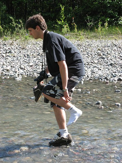 A Rare and Exciting Look at a Real River Walker