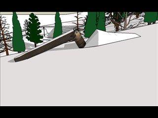 tree rail(sketchup)