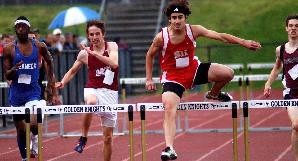 last hurdle in 400 hurdles