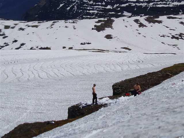 glacier cliff setup