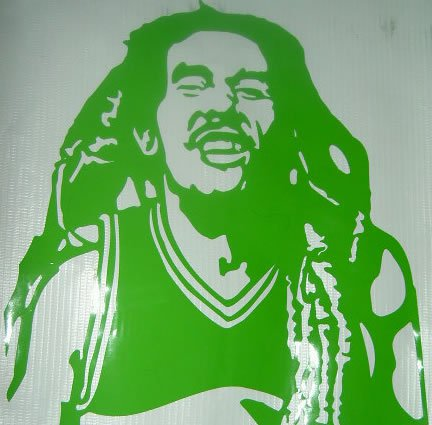 Marley Sticker I mad
