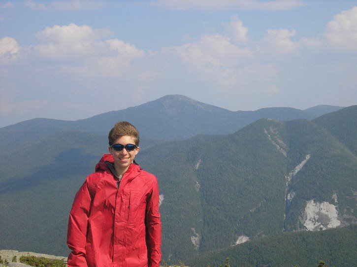 Me with mount marcy in background