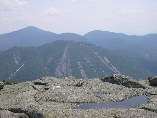 View from algonquin in the adirondacks