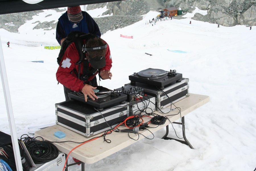 Ski patrol DJ what whaaaat?