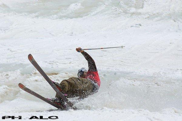 Daniele slash in des alps