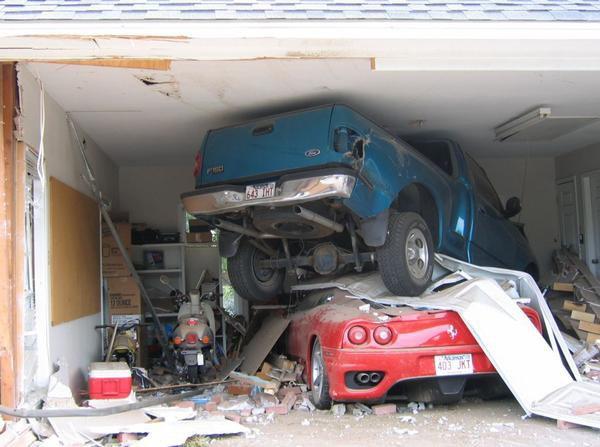 Ran outta garage space