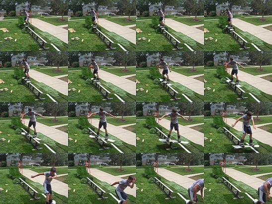 Sequence from camera