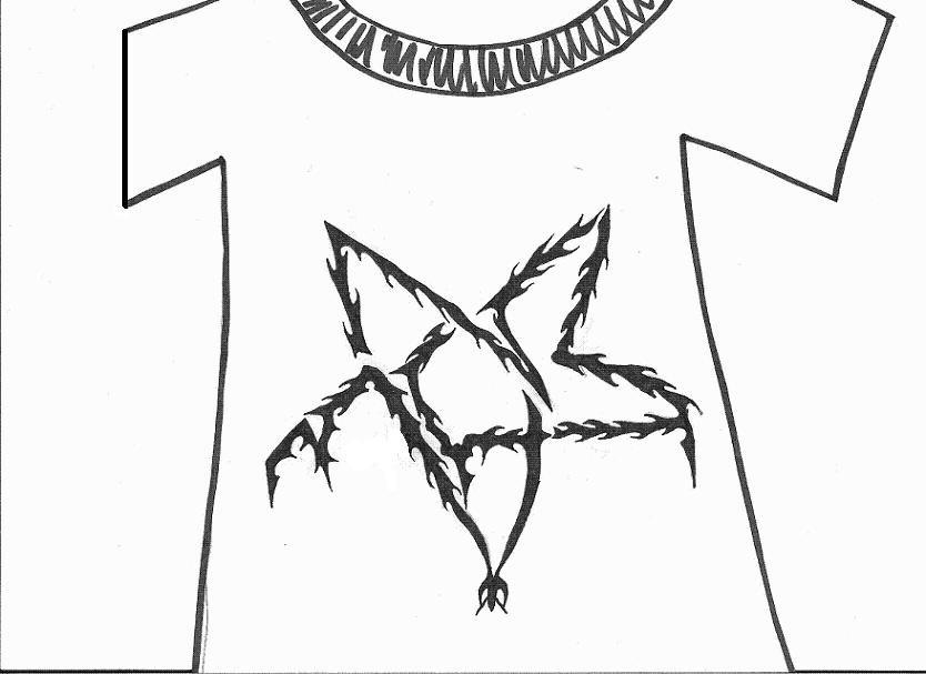 NS metalheads t-shirt design for thread