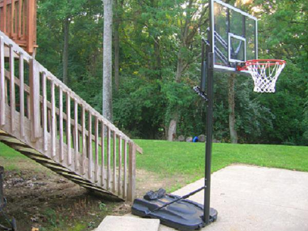 Backyard for set up in future