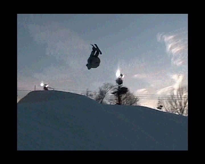 Rip'n skiboarder
