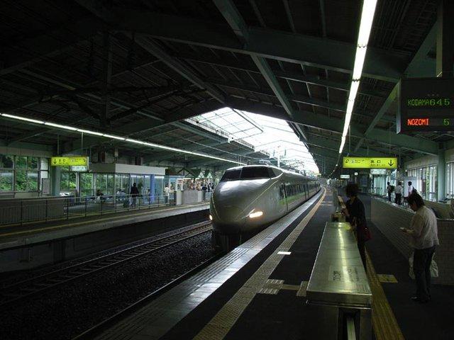 Old Bullet Train / Shinkansen