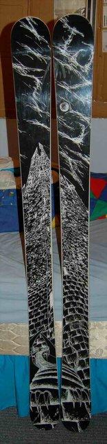 Top View of my Line Elizabeth Skis