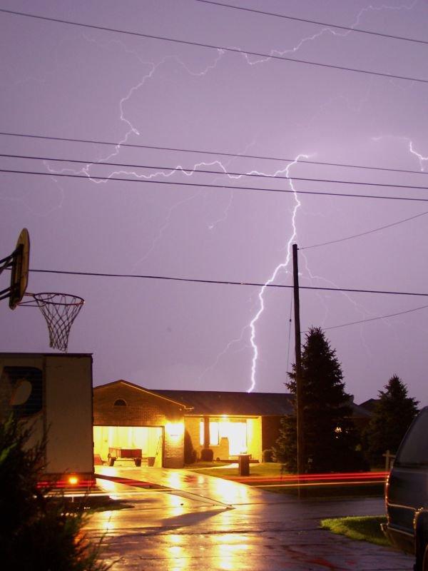 Nighttime Summer Storm