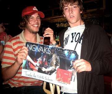 The Novaks rock. listen to them....i know i was.