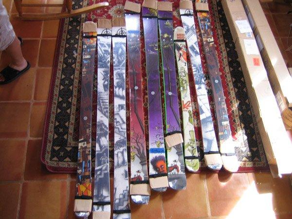 I got mo' skis den any of you knahmsaying