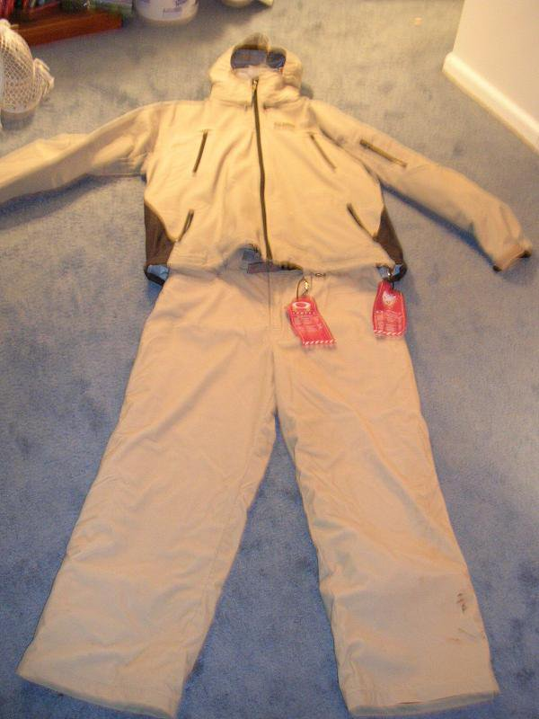 Jacket and pants for sale