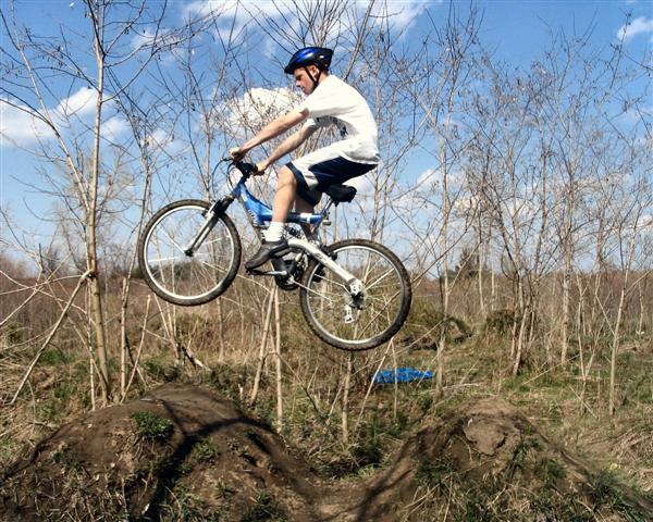 Bike jump!!