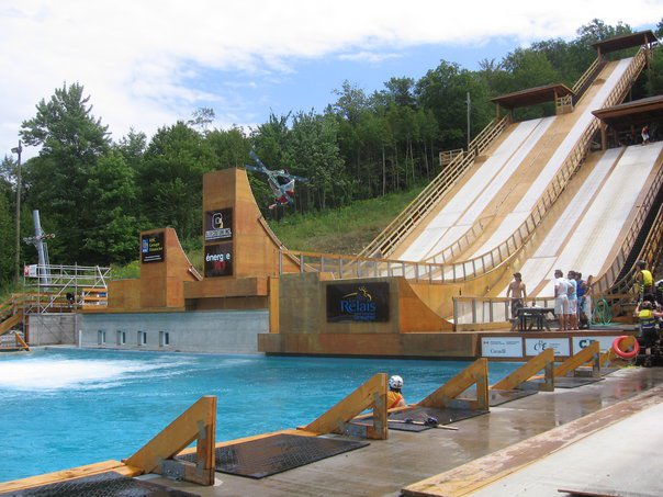 Water ramps