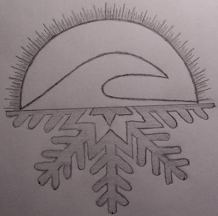 My tat and logo for Zittle Boards