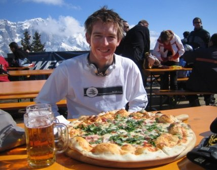 Pizza, Beer and Skiing