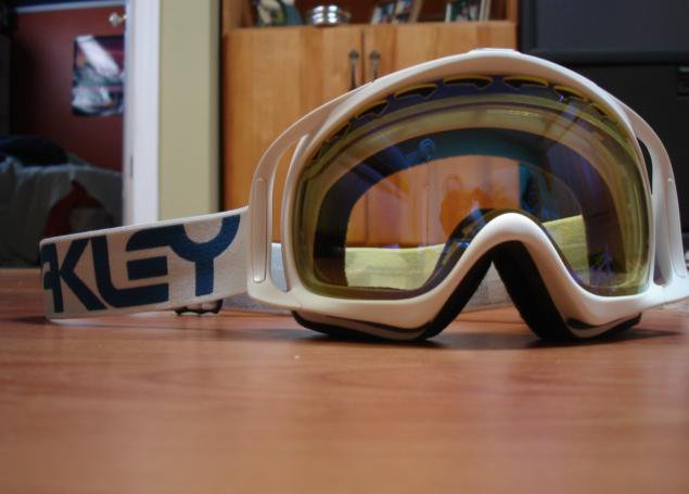 My new oakley crowbar
