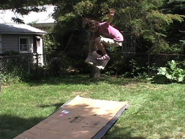 Extreme cardboarding
