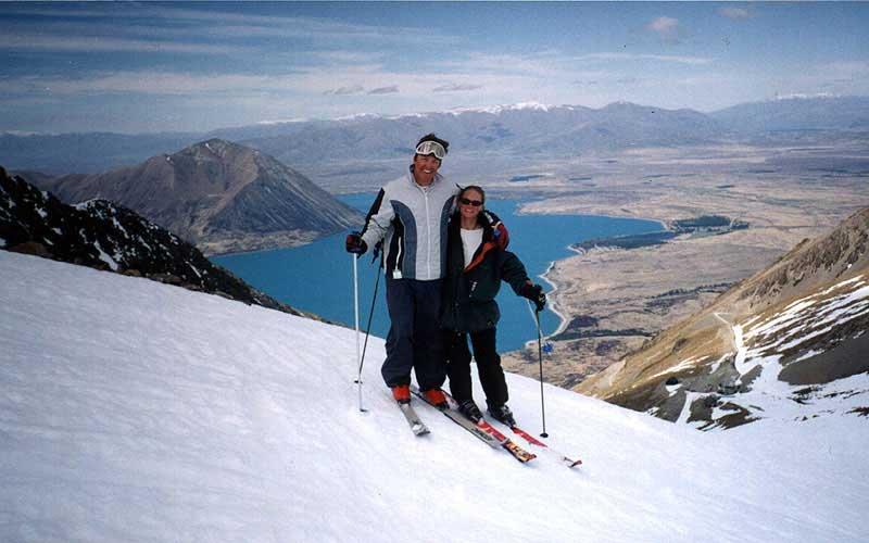 Ohau I love rental skis