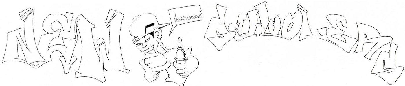 Newschoolers graffiti peice (click it)