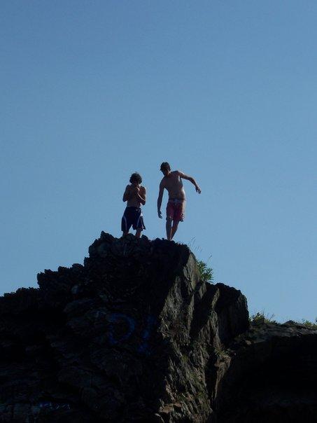 Hidden Cliff jumping