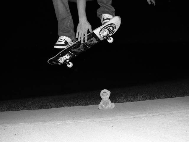 Over the Teddy Bear