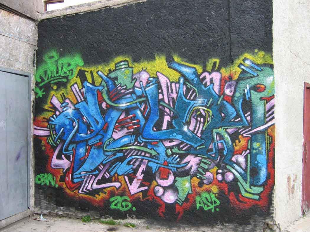 Graff in da peg
