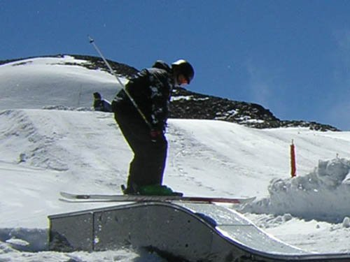 Steeze rail in  Les 2Alpes