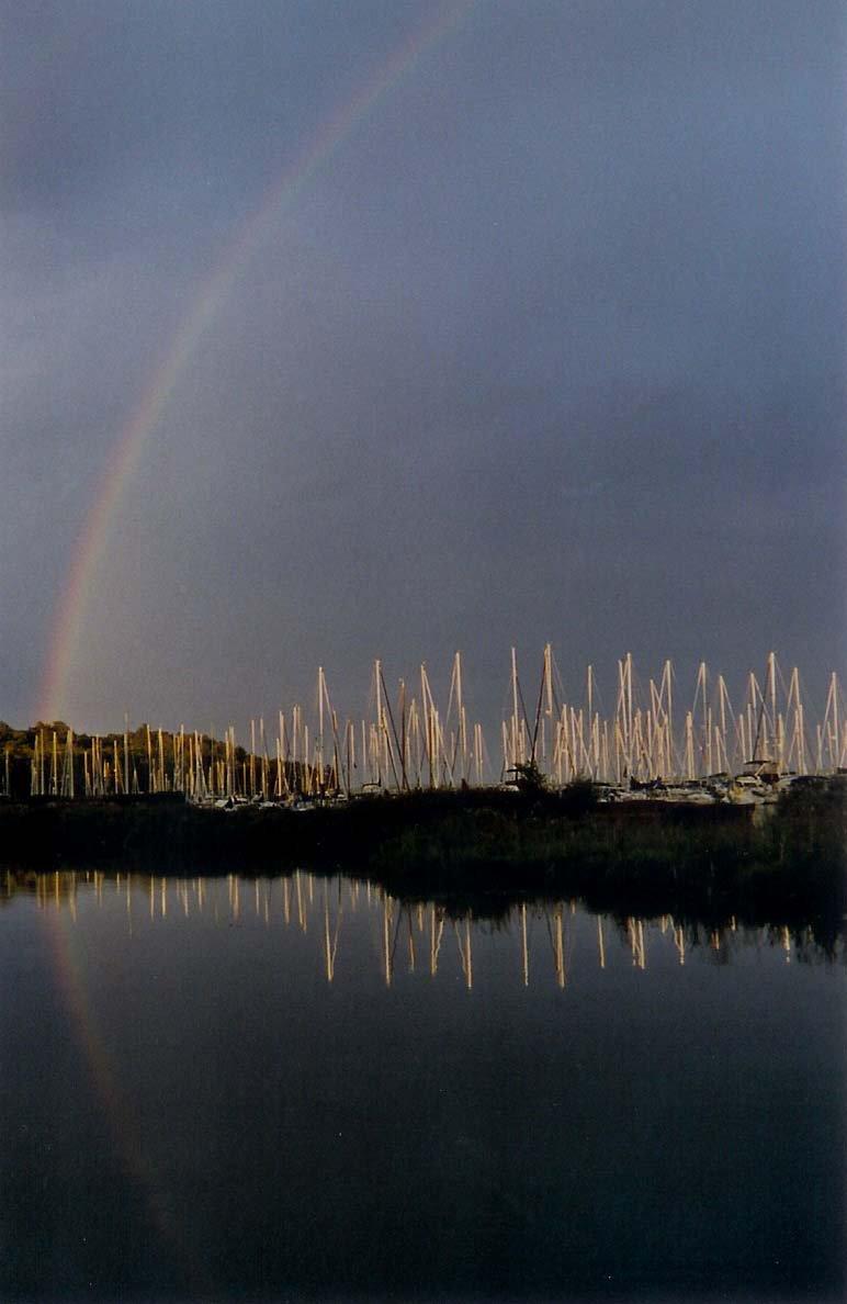 Rainbow in the Marina