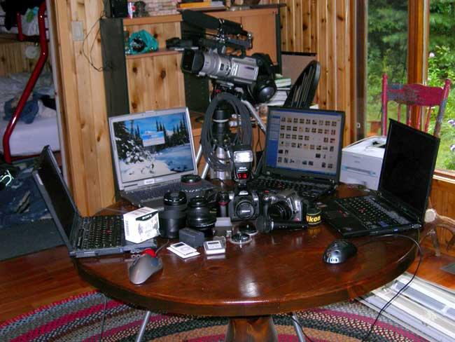 Portable Editing Studio.....