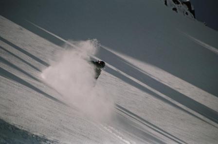 Heli ski photo shoot NZ 06