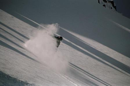 Heli ski photo shoot NZ 06